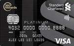 Standard Chartered Visa Platinum Card