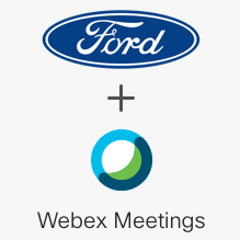 Cisco Webex Meetings for Ford SYNC® 3 AppLink® (meetings)