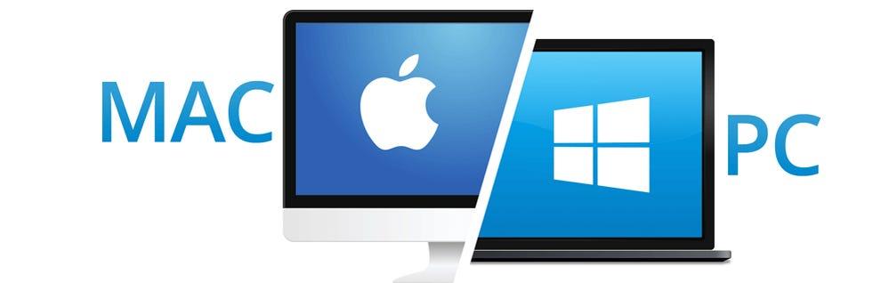Computadora con Sistema Operativo Mac o Windows