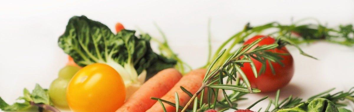 Los 5 grupos de alimentos - Frutas y Vegetales