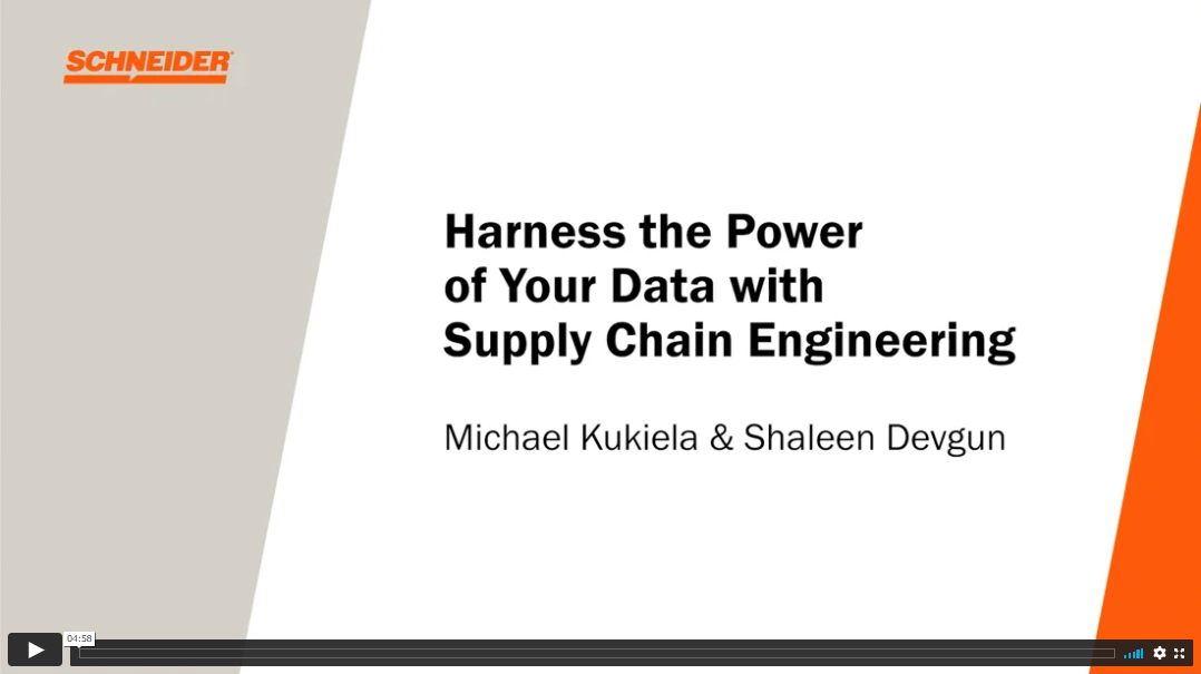 supply chain engineering video cover image