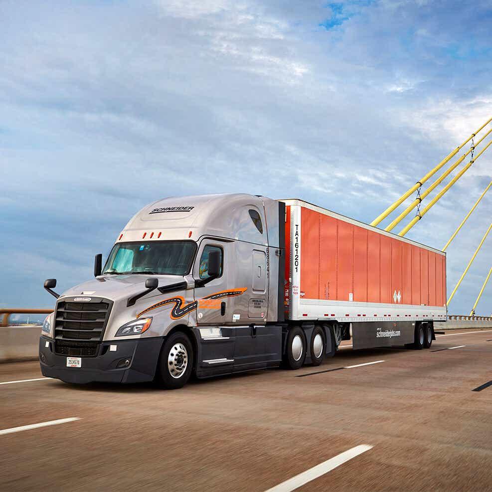 schneider truck image