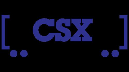 CSX railroad logo
