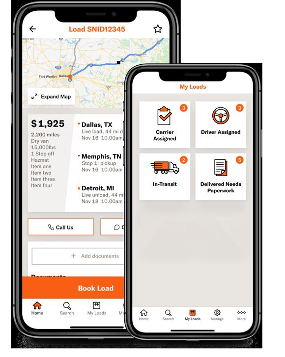 Schneider FreightPower app