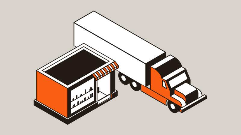 Retailer supply chain case study image