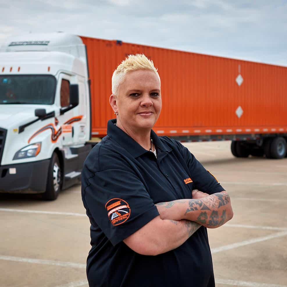 Schneider truck driver manufacuring capacity