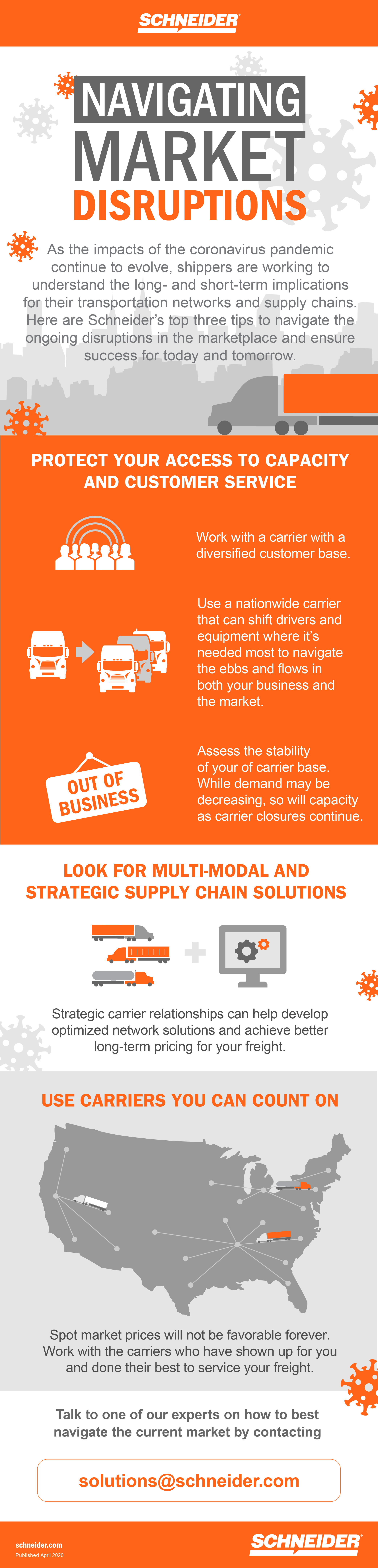 Infographic: Navigating transportation and supply chain disruptions