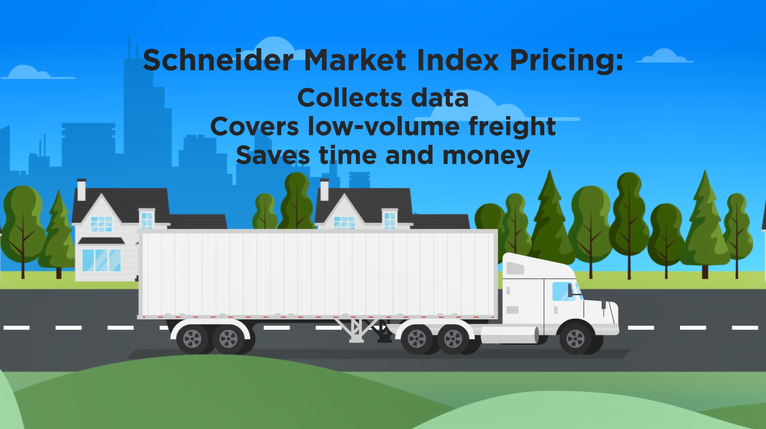 freight quotes for inconsistent shipments with Market Index Pricing