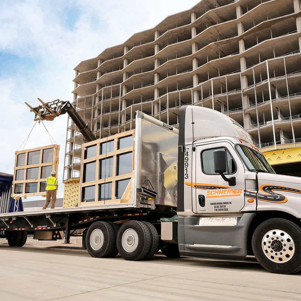 dedicated shipping service flatbed