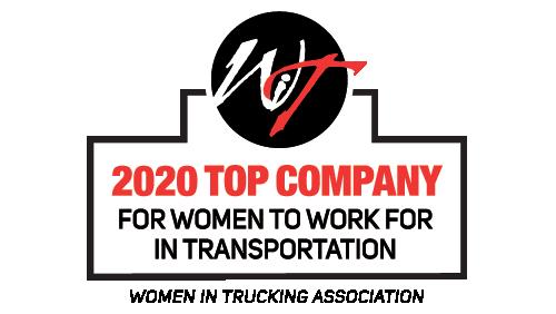 Women in Trucking 2020 award logo