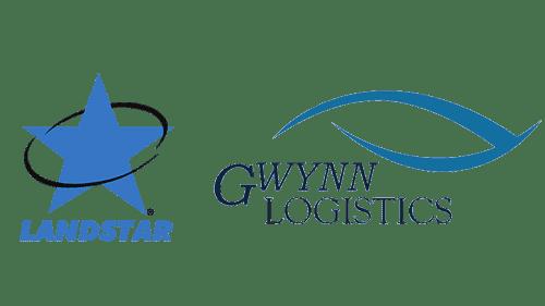 Landstar Inway and Gwynn Logistics logos