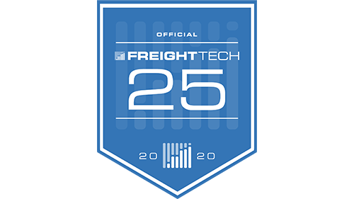 2020 FreightWaves FreightTech25 award icon