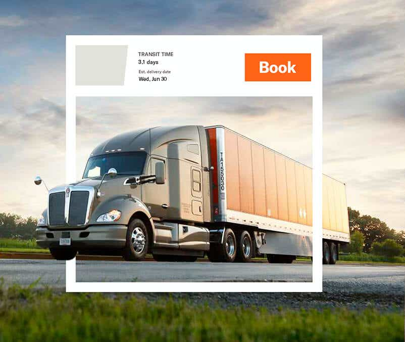 Freight quotes and LTL quotes with FreightPower - an image