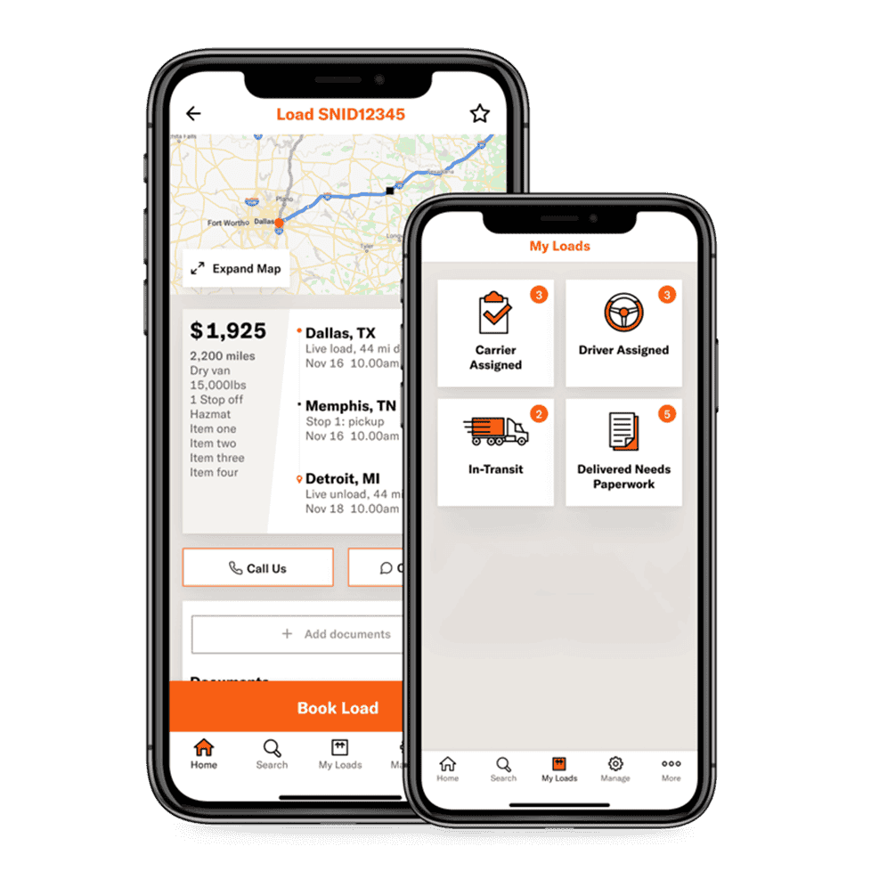 Freightpower load board app for carriers