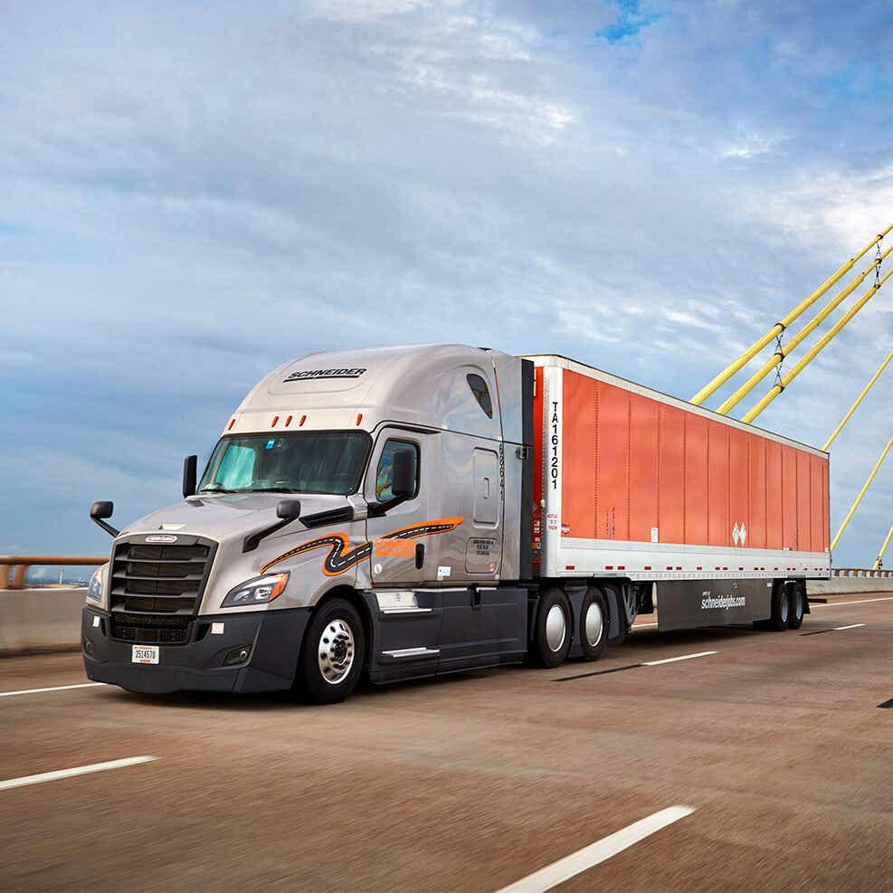 long haul truckload image