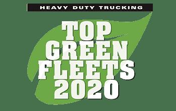 HDT Top Green Fleet award logo