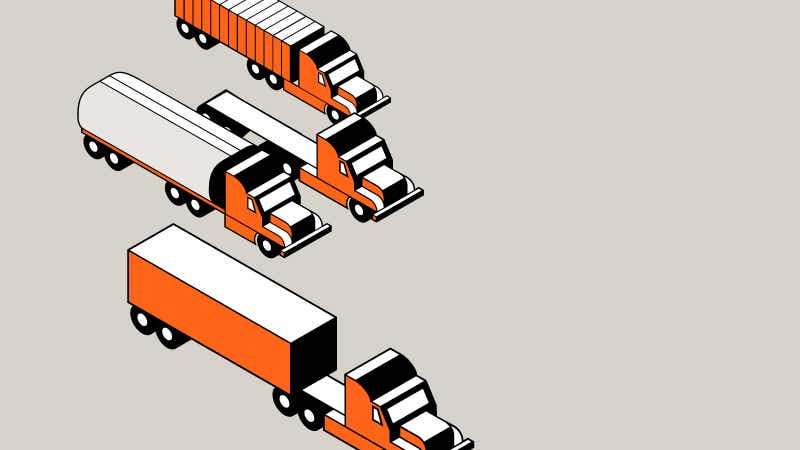 image of the six reasons to choose schneider trucking, shipping, and transportation