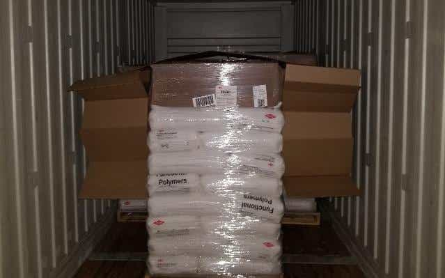 Saddle packs recommended on single pallets