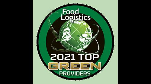 2021 food logistics top green service provider