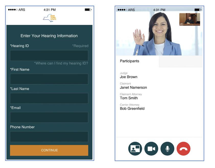 New York State Workers' Compensation Board app