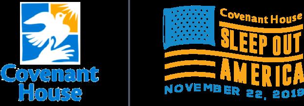 covenant house | covenant house sleep out america november 22, 2019 logo