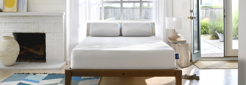 Leesa mattress in a decorated room.