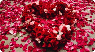 Floral Heart Memorial