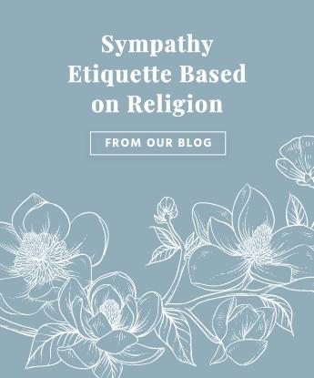 Sympathy Etiquette Based on Religion