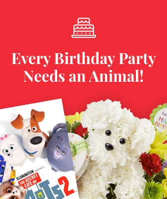 Every Birthday Party Needs an Animal