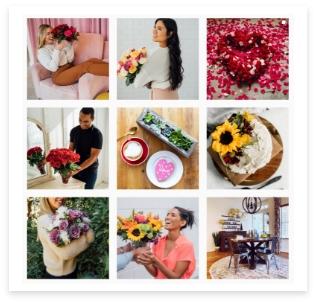 Follow Us @1800flowers