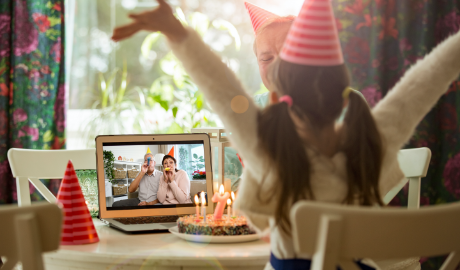 Ideas to Celebrate Birthdays Virtually