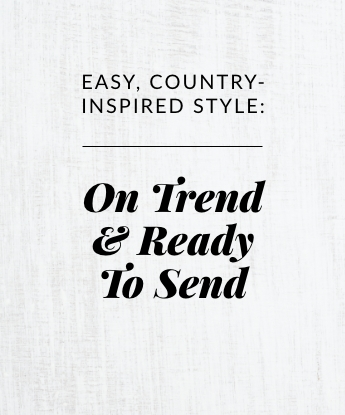 On Trend & Ready To Send