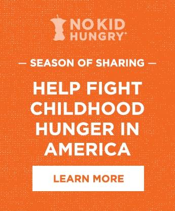 No Kid Hungry Season of Sharing