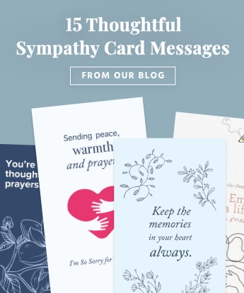 15 Thoughtful Sympathy Card Messages