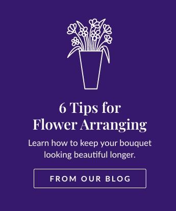 6 Tips for Flower Arranging