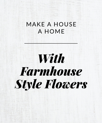 With Farmhouse Style Flowers