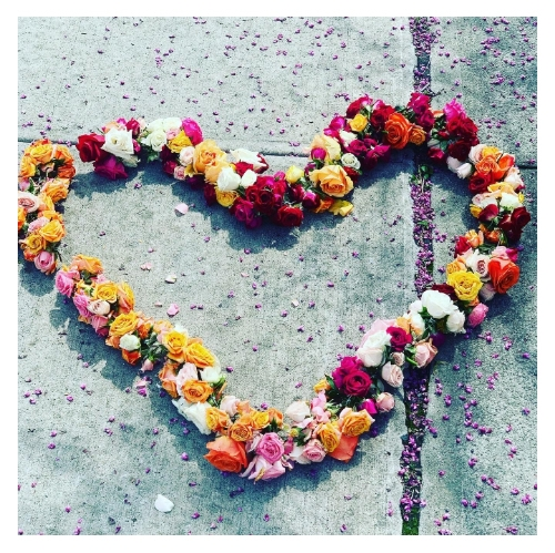 What is the Floral Heart Project?