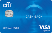 Citi Cash Back信用卡