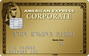 American Express Gold Corporate Card