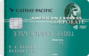 American Express Cathay Pacific Corporate Card
