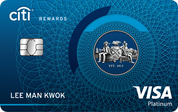 Citibank Rewards VISA信用卡