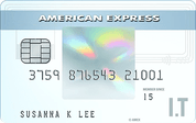 American Express® I.T Cashback Card