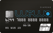 PrimeCredit WeWa UnionPay Card for University Student