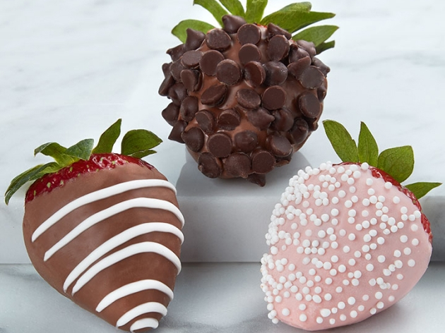 Chocolate Covered Strawberries >