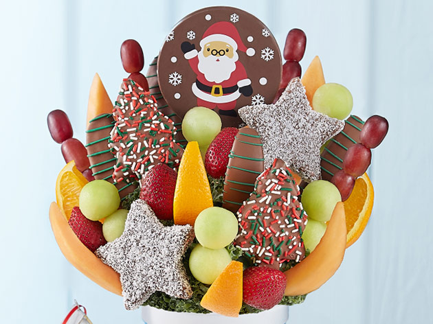 Holiday Fruit Arrangements