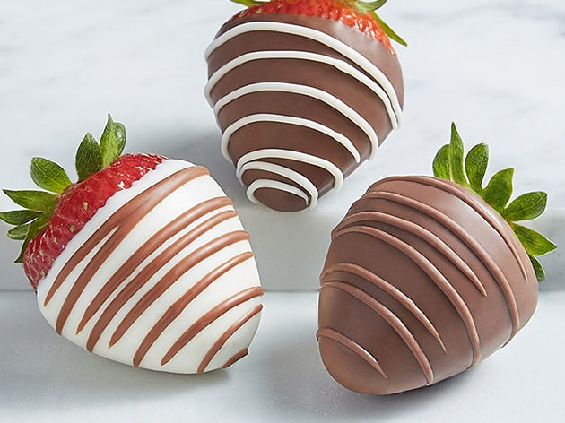 Chocolate Covered Strawberries >