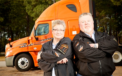 What it's like to be a woman truck driver