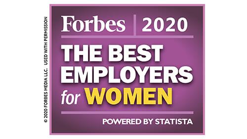 Best Employers for Women Award
