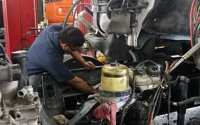 Must have diesel technician skills