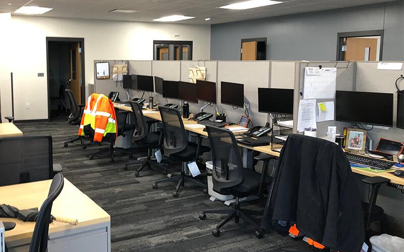 Schneider Dallas facility office